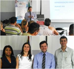 BraZip Tecnologia apresenta o mySuite no evento INFOFISCO na cidade de Muriae MG