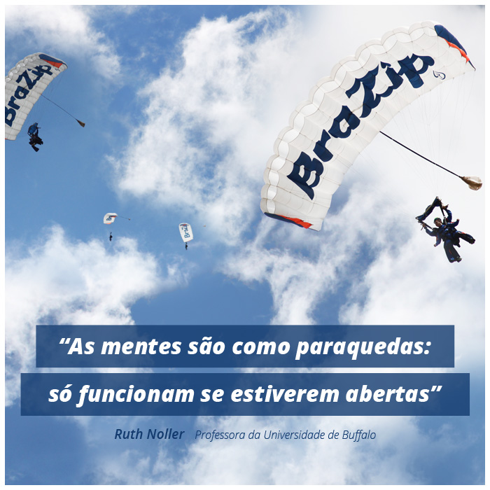 Dia do Esportista - Paraquedas BraZip