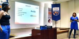 Alunas do Senac Rio falam sobre o mySuite em apresentação de TCC do MBA em Estratégia e Inteligência Competitiva