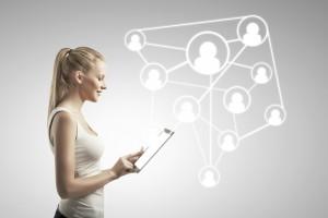Como funciona uma rede social corporativa