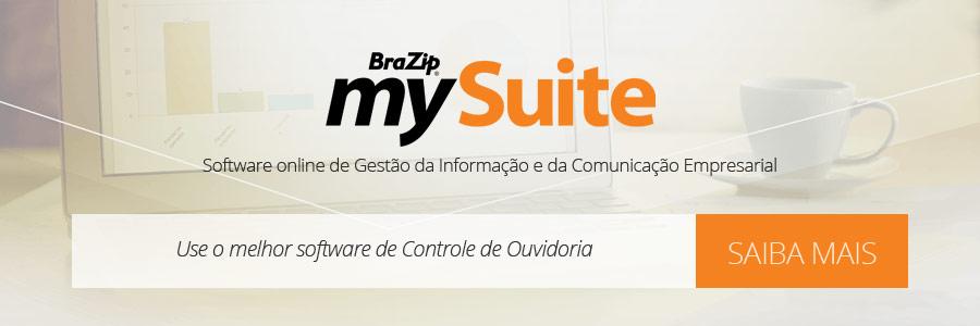 BraZip mySuite - Sistema Online de Controle de Ouvidoria