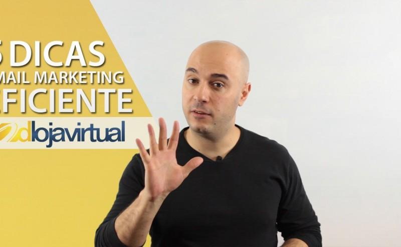 5 Dicas para um email marketing eficiente