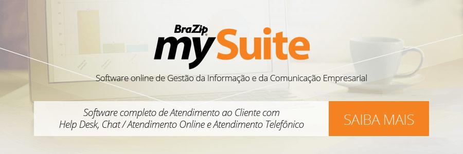 BraZip mySuite - Serviço Completo de Atendimento ao Cliente, com Help Desk, Chat / Atendimento Online e Atendimento Telefônico
