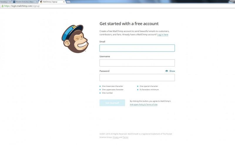 Tutorial | Como criar uma conta no MailChimp
