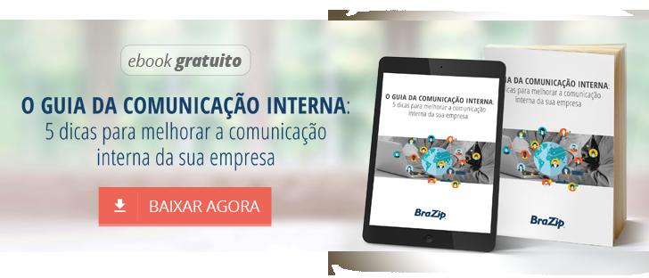 Ebook Grátis: O guia da comunicação interna: 5 dicas para melhorar a comunicação interna da sua empresa
